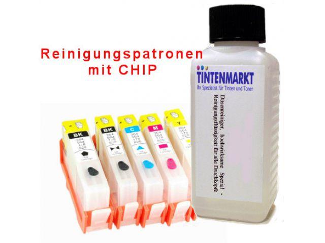 Reinigungspatronen für CLI-8 und PGI 5 Druckerpatronen zur Druckkopfreinigung