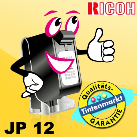Ricoh JP12 Originaltinte mit 1 x 600 ml
