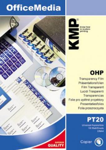 KMP Universal Kopierfolie Format: A4.