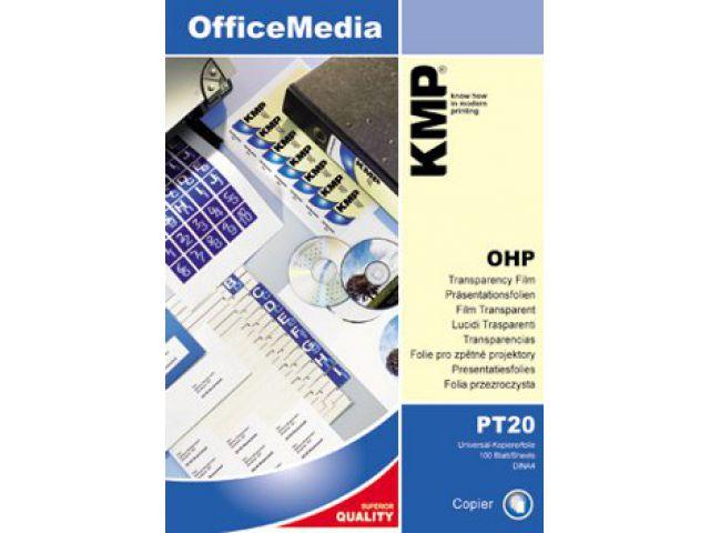 Universal Kopierfolie Format: A4. Folienstärke: 100µ. Inhalt: 100 Blatt. Geeignet für alle
