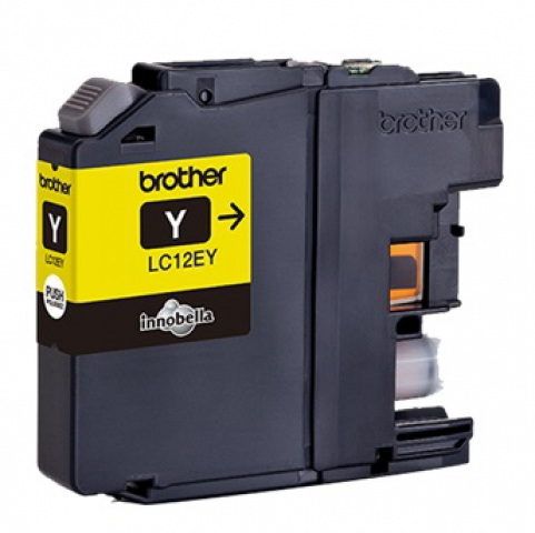 Brother LC12EY original Druckerpatrone passend