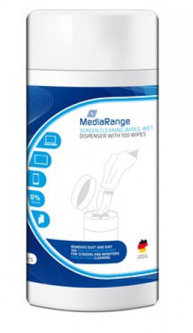 MediaRange Reinigungstücher für TFT,LCD,Plasma