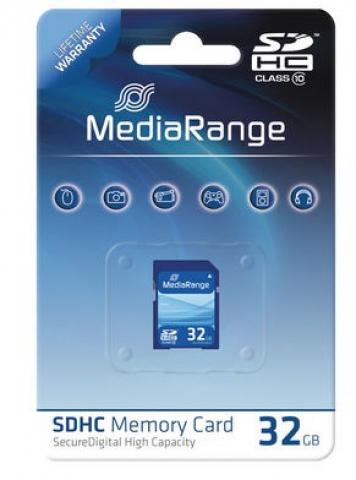 MediaRange SDHC Speicherkarte, Memory Card 32