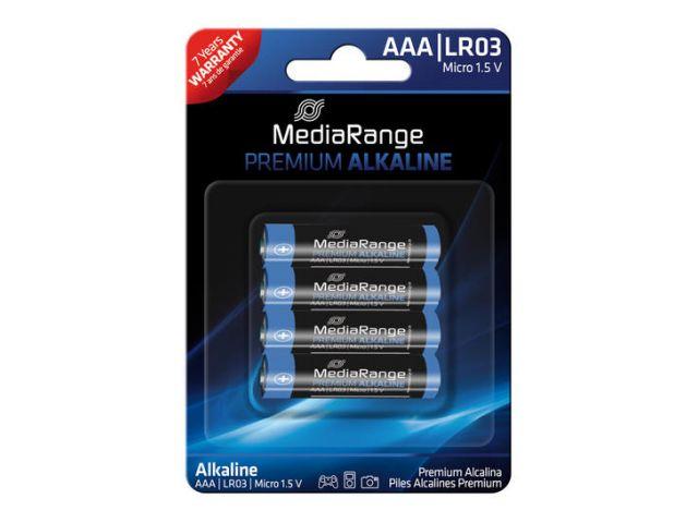 Alkaline Battery AAA / LR03 1.5V in Premium Qualität, 4 Stück im Blister - Pack