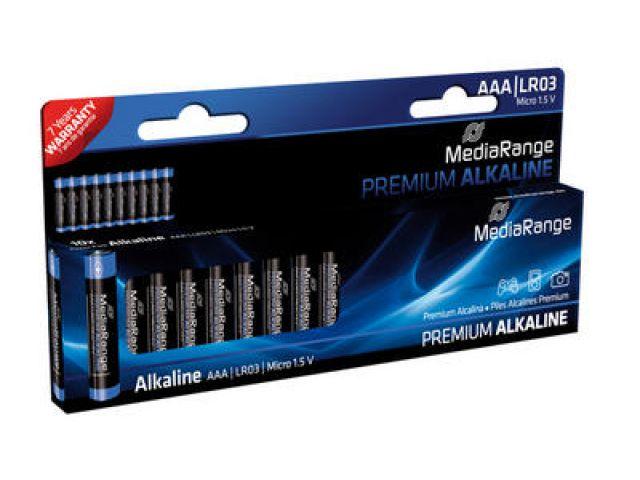 Alkaline Battery AAA / LR03 in Premium Qualität 1.5V 10 Stück im Blister - Pack