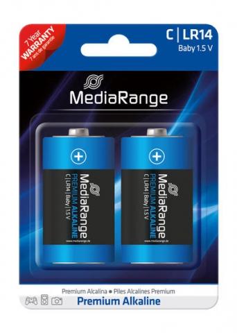 MediaRange Alkaline Battery Baby C , LR14 1.5V