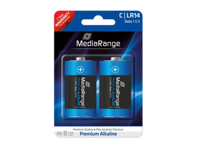 Alkaline Battery Baby C / LR14 1.5V in Premium Qualität, 2 Stück im Blister - Pack