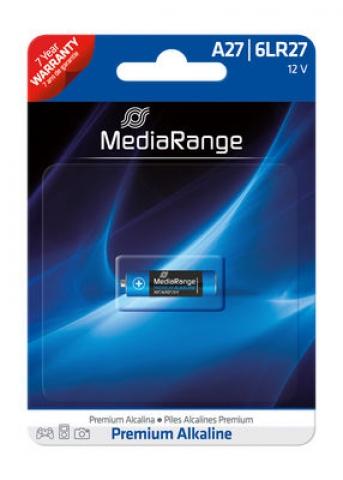 MediaRange Alkaline Battery A27 , 6LR27 12V in