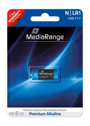 MediaRange Alkaline Battery Lady N , LR1 1.5V in