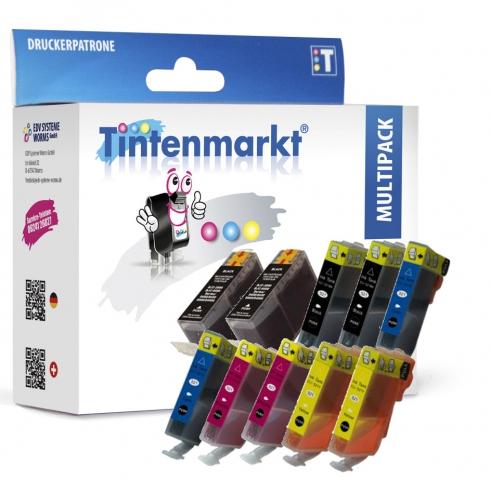 Tintenmarkt Multipack ersetzt Canon CLI-8 und
