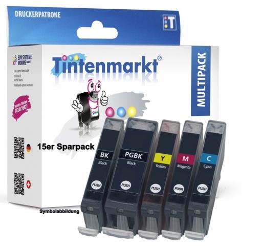 Tintenmarkt Multipack ersetzt CLI-8 und PGI-5