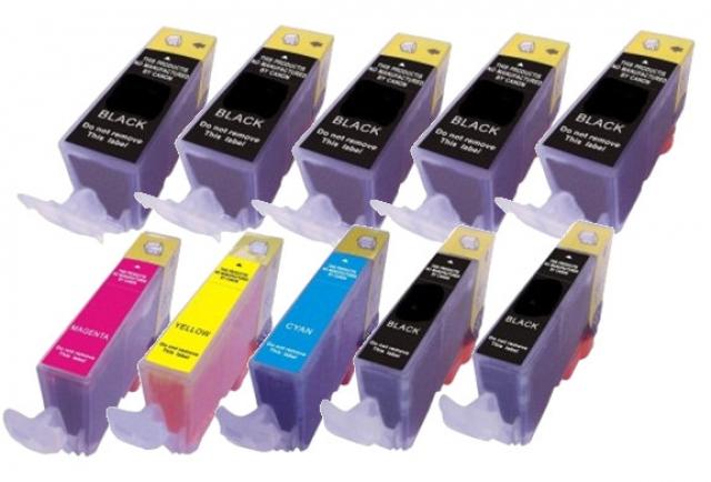 Tintenmarkt Multipack mit 10 kompatiblen