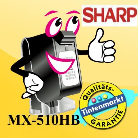 Sharp MX-510HB original Rest Toner behälter