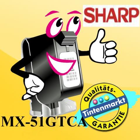 Sharp MX-51GTCA Toner von für ca. 18.000