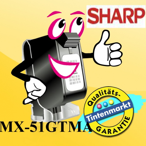 Sharp MX-51GTMA Toner von für ca. 18.000