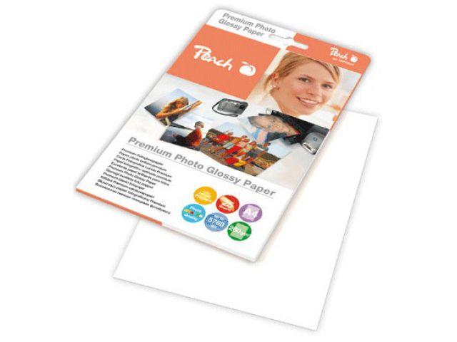 A4 Peach Fotopapier 260 g / m2, glossy, 25 Blatt, mikroporös, sofort trocknend und wasserfest