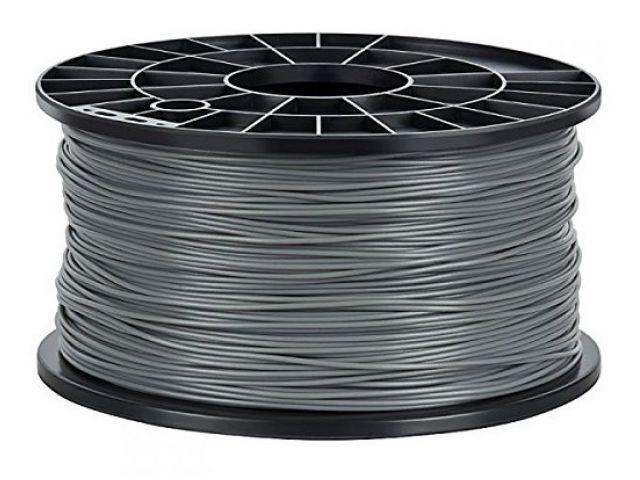 PLA Filament in Grau für 3D Drucker MakerBot, RepRap, MakerGear und viele Andere, Stärke 1,75mm