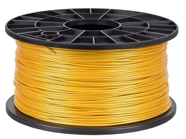 PLA Filament in Gold für 3D Drucker MakerBot, RepRap, MakerGear und viele Andere, Stärke 1,75mm