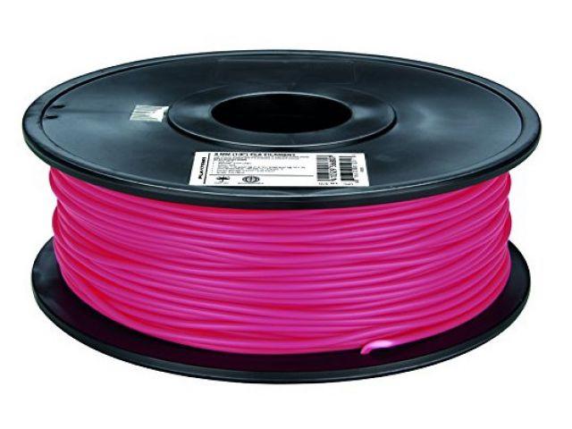 PLA Filament in Magenta für 3D Drucker MakerBot, RepRap, MakerGear und viele Andere, Stärke