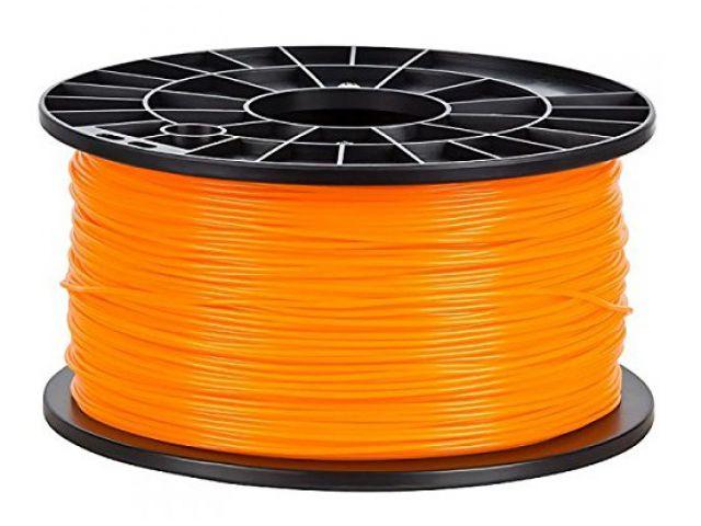 PLA Filament in Orange für 3D Drucker MakerBot, RepRap, MakerGear und viele Andere, Stärke