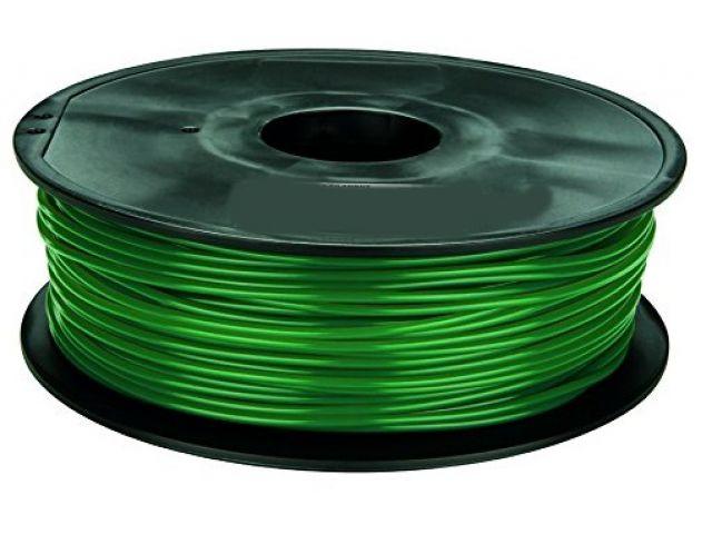 PLA Filament in Tannengrün für 3D Drucker MakerBot, RepRap, MakerGear und viele Andere, Stärke