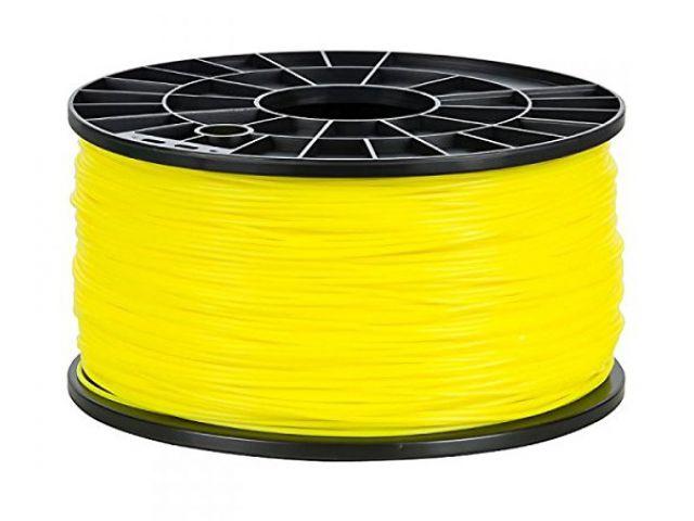 PLA Filament in Gelb für 3D Drucker MakerBot, RepRap, MakerGear und viele Andere, Stärke 1,75mm