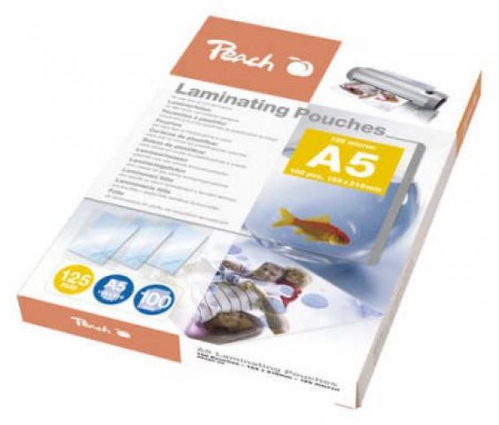 Peach Laminierfolie DIN A5 (154x216mm) Dicke: