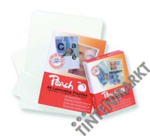 Peach Laminierfolie Business Card (60x90mm)