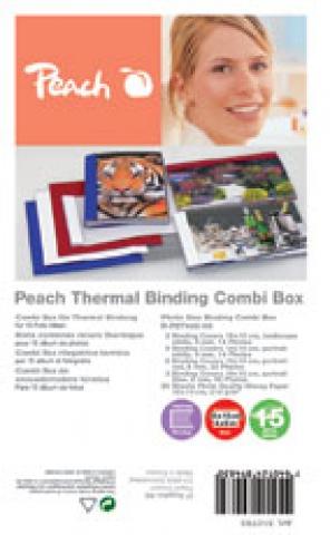 Peach Bindeset für Fotoalbum A5, Thermobindung,
