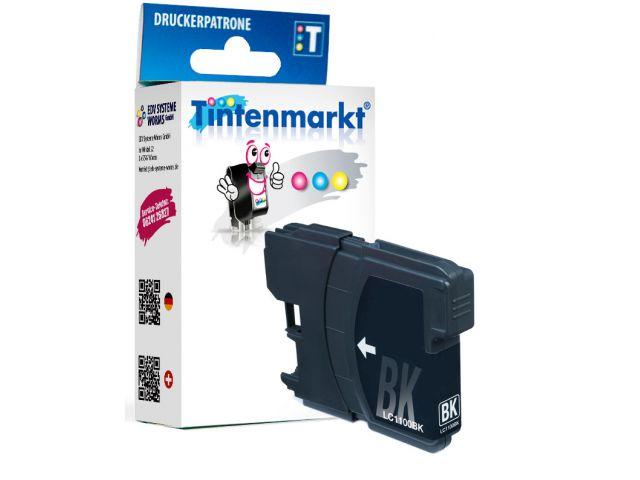 Druckerpatrone ersetzt Brother LC-1100BK, recycelte original Tintenpatrone mit ca. 13 ml Inhalt