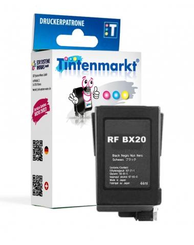 Tintenmarkt Druckerpatrone ersetzt Canon BX-20,