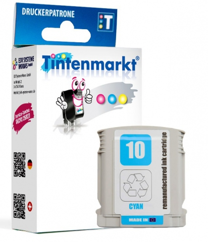 Tintenmarkt Druckerpatrone ersetzt HP10C,