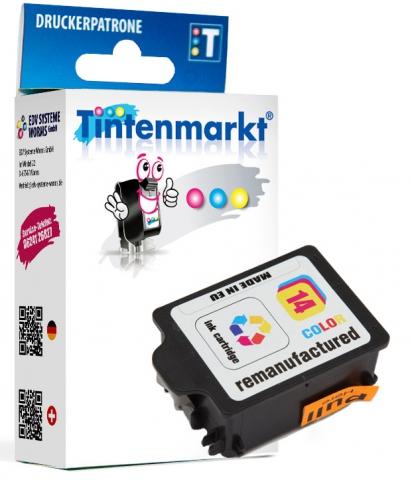 Tintenmarkt Druckerpatrone ersetzt HP14C,