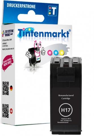 Tintenmarkt Druckerpatrone ersetzt HP17,