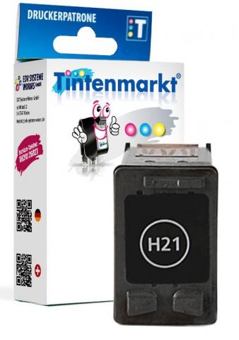 Tintenmarkt Druckerpatrone ersetzt HP21,