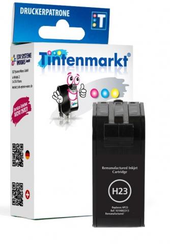 Tintenmarkt Druckerpatrone ersetzt HP23,