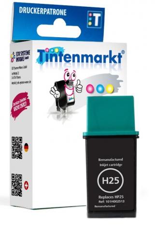 Tintenmarkt Druckerpatrone ersetzt HP25,