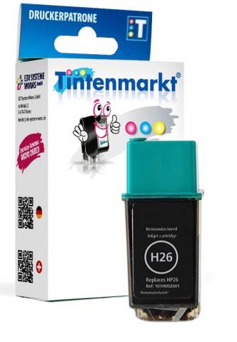 Tintenmarkt Druckerpatrone ersetzt HP26,