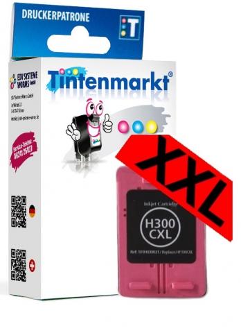 Tintenmarkt Druckerpatrone ersetzt HP300C,