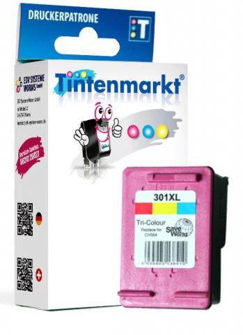 Tintenmarkt Druckerpatrone ersetzt HP301CXL,