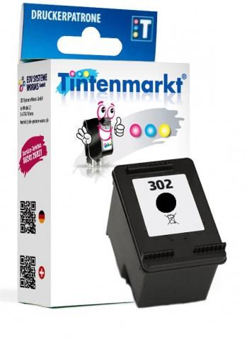 Tintenmarkt Druckerpatrone ersetzt HP302BK,
