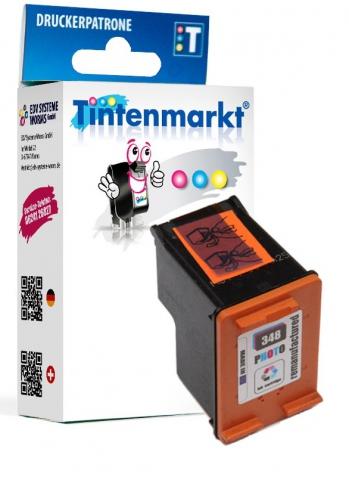 Tintenmarkt Druckerpatrone ersetzt HP348, BITTE