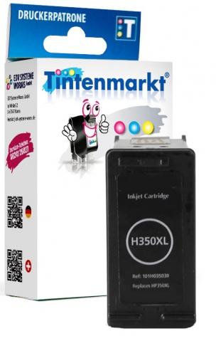 Tintenmarkt Druckerpatrone ersetzt HP350XL,