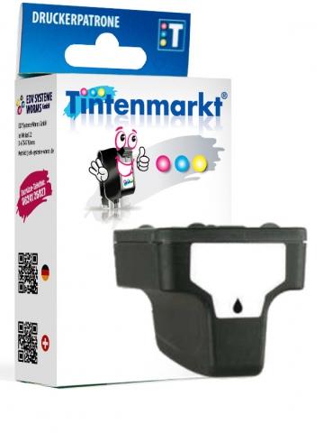 Tintenmarkt Druckerpatrone ersetzt HP363BK,