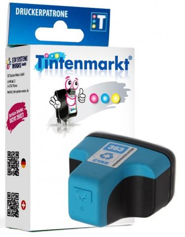 Tintenmarkt Druckerpatrone ersetzt HP363CY,
