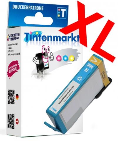 Tintenmarkt Druckerpatrone ersetzt HP364XLC,