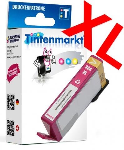 Tintenmarkt Druckerpatrone ersetzt HP364XLM,