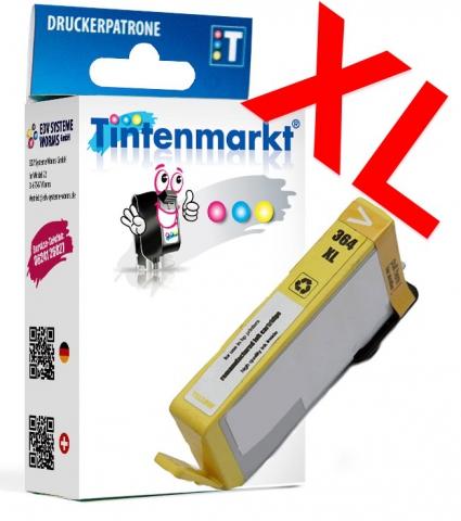 Tintenmarkt Druckerpatrone ersetzt HP364XLY,