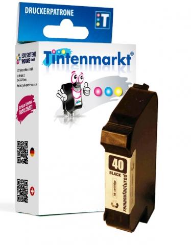 Tintenmarkt Druckerpatrone ersetzt HP40B,