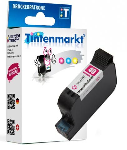 Tintenmarkt Druckerpatrone ersetzt HP40M,